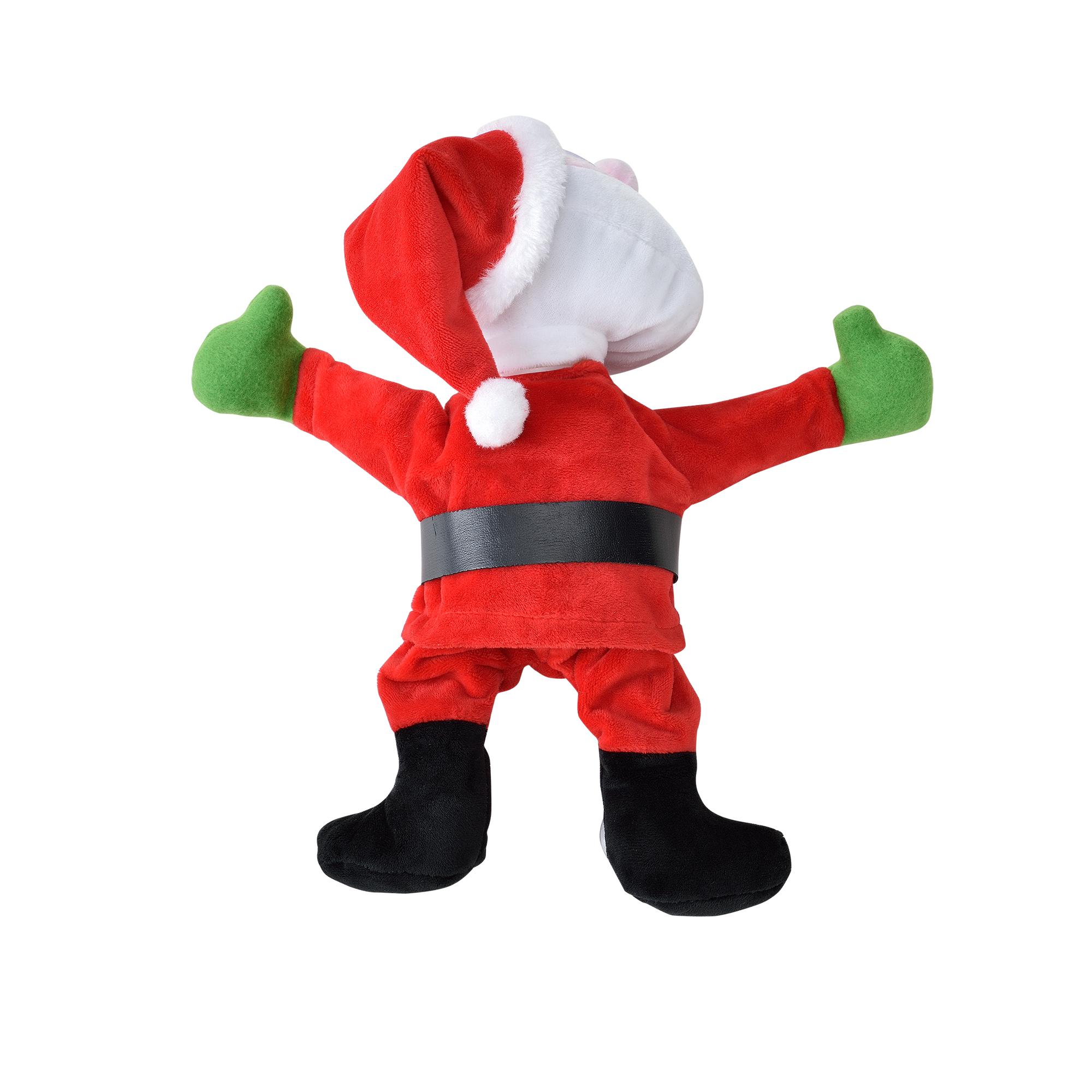 Papa-Noel-que-baila-para-ventana-30cm-decoracion-navidena-Santa-Claus-Navidad miniatura 3