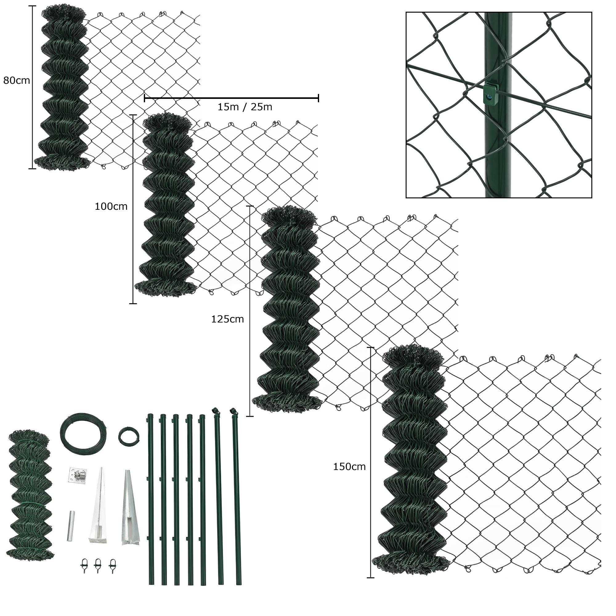 wire mesh fence complete set wire mesh garden. Black Bedroom Furniture Sets. Home Design Ideas