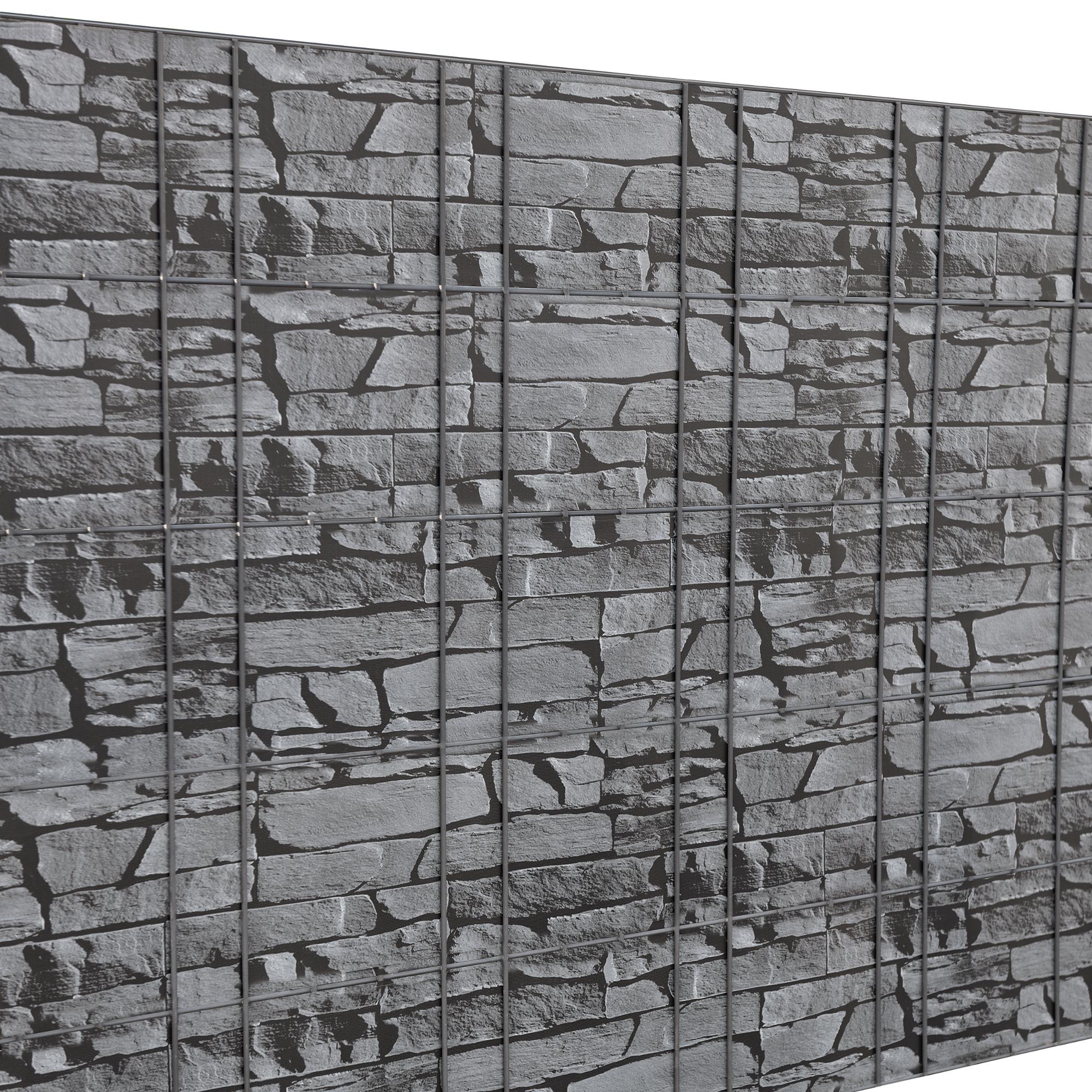 35m sichtschutz zaunfolie pvc windschutz doppelstabmatten zaun ebay. Black Bedroom Furniture Sets. Home Design Ideas
