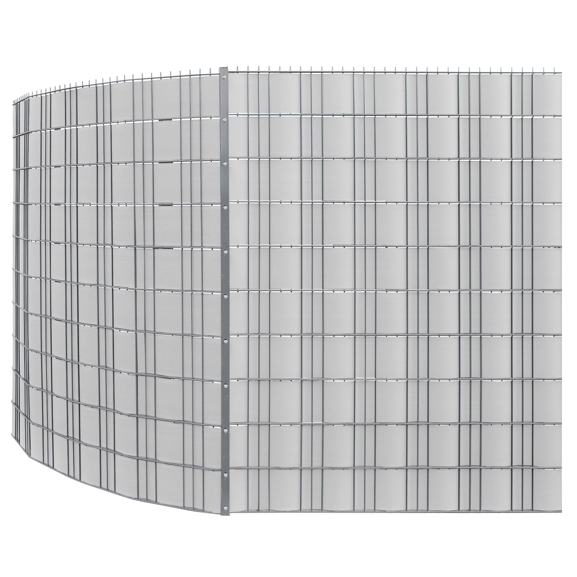 neu haus] 35m Sichtschutz Zaunfolie PVC Windschutz