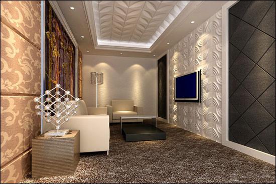 Neuholz 6m wandpaneele 3d wandverkleidung design wand paneel verblender rose ebay - 3d wandpaneele gips ...