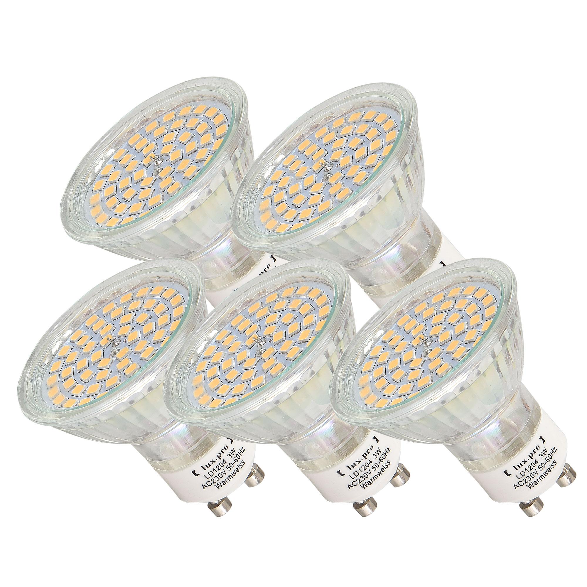[lux.pro]® LED žárovka Spot 5x LD1204-WW